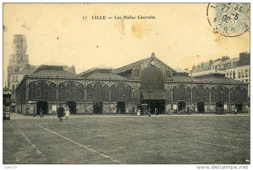 Architecture Métallique - Halles - Marché - Monuments