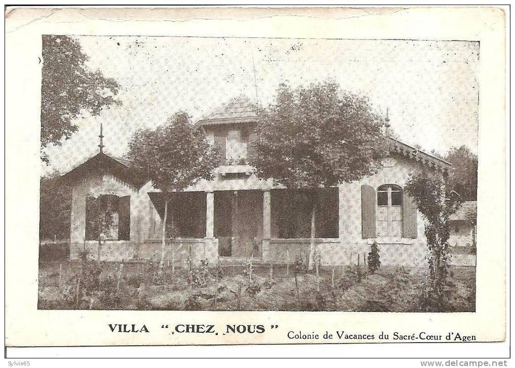 CASSY-LES-BAINS-par LANTON-villa Chez Nous-colonie De Vacances Du Sacré-coeur D'AGEN - France