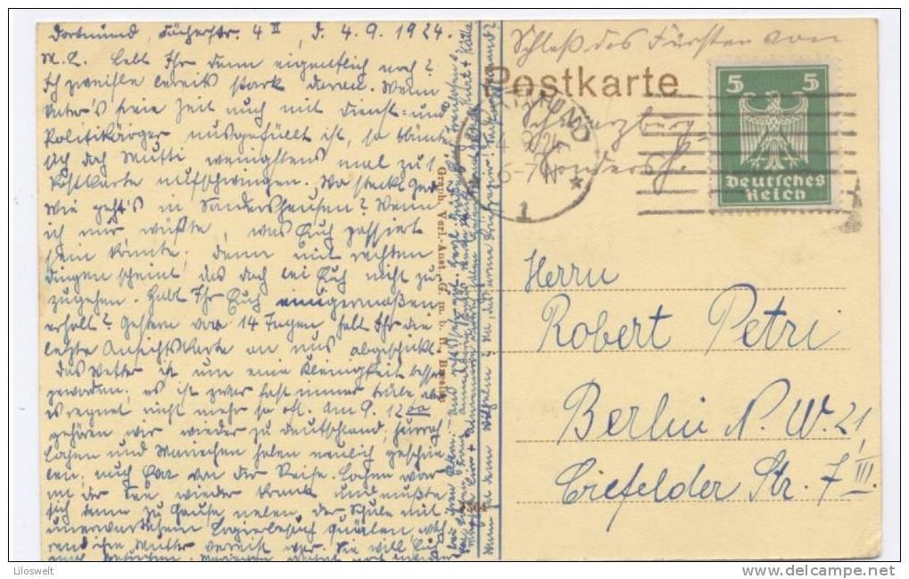 Sondershausen Partie Mit Dem Schloß 1924 - Sondershausen