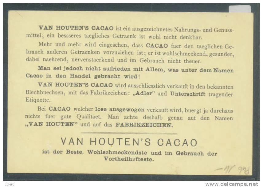 CACAO - VAN HOUTEN   - TB - Advertising