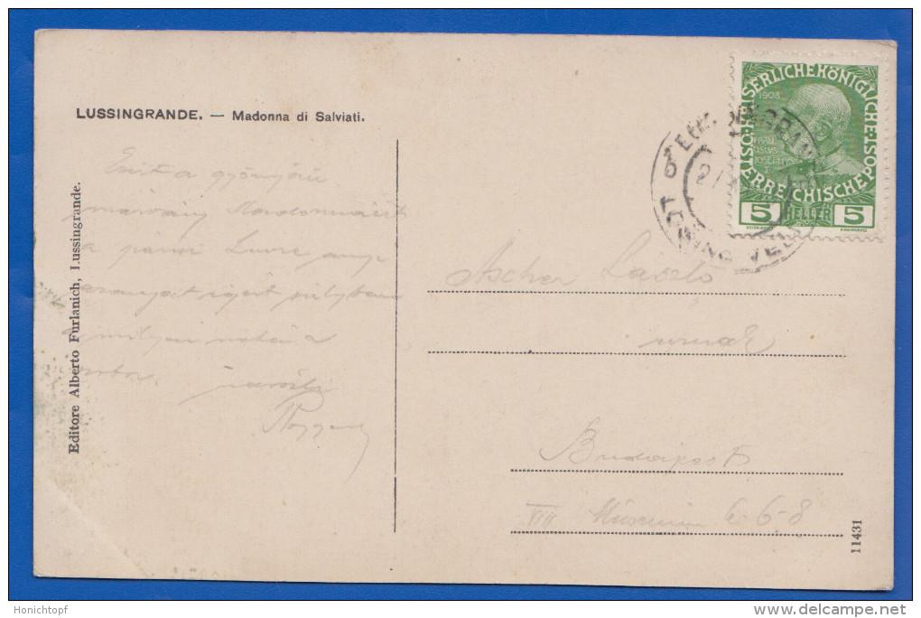 Kroatien; Veli Losinj; Lussingrande; Madonna Di Salviati; Ca. 1910 - Croatia