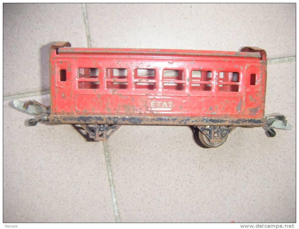 Wagon Train  -etat- Lr    -pour Pieces --  -ecartement  2.8 Cm Jep-meccano Je Ne Sais Pas--2013 - Wagons