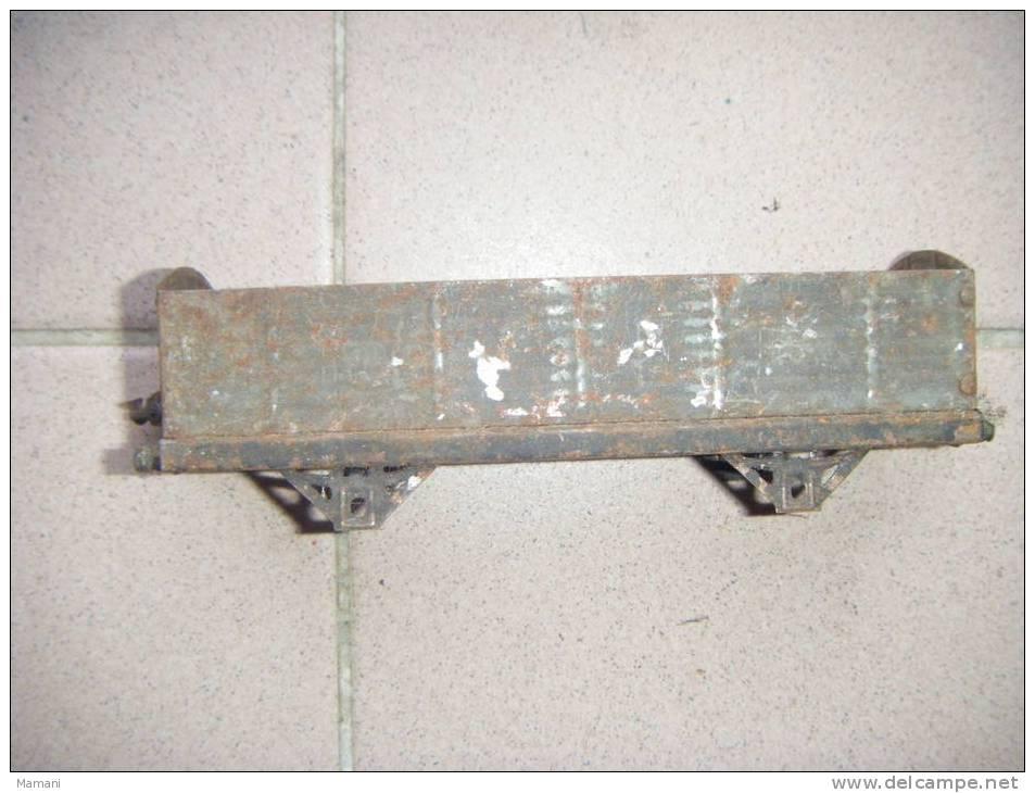 Wagon Train  -tole - LR    -pour Pieces - -ecartement  2.8 Cm Jep-meccano Je Ne Sais Pas-2022 - Wagons