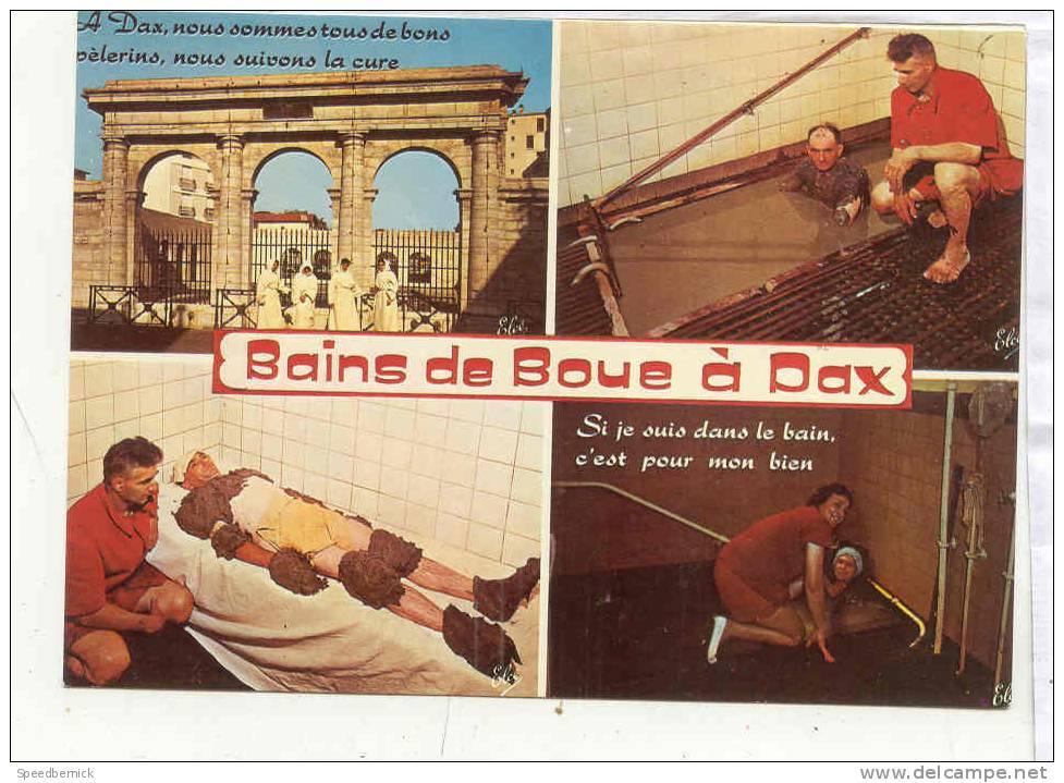 14054 Dax Les Bains De Boue . N6437 . Les Messieurs Sexy ! - Dax