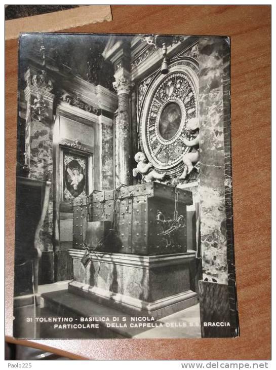 TOLENTINO - Basilica Di San Nicola Interno BN NV - Macerata