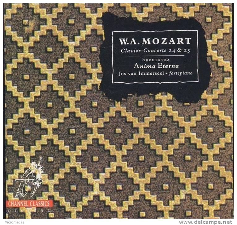Mozart : Concertos Pour Piano 24 & 25, Immerseel - Classique