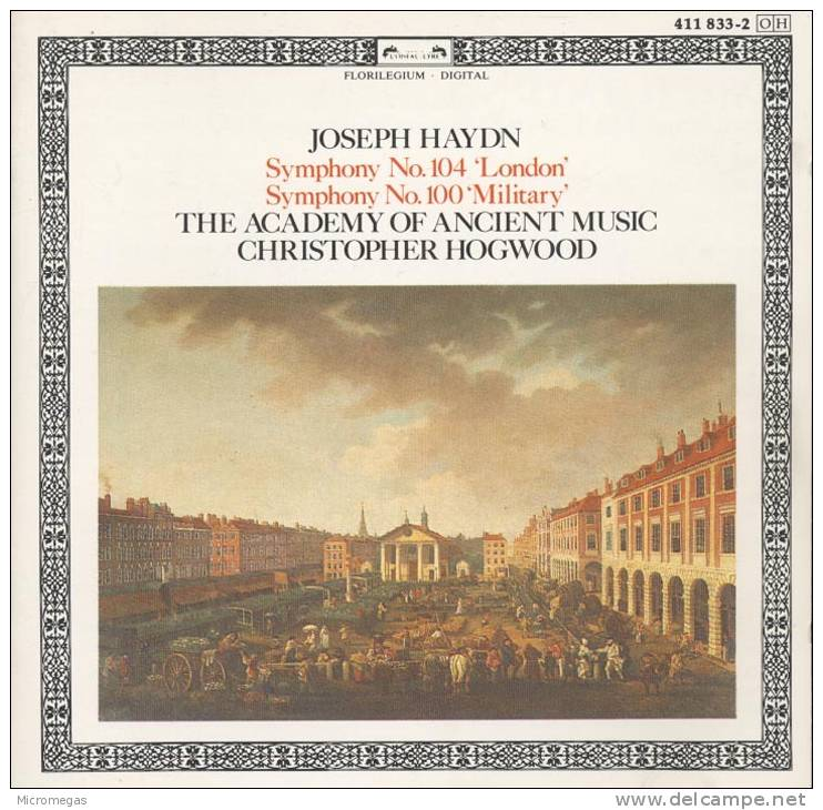 Haydn : Symphonies 100 & 104, Hogwood - Classique