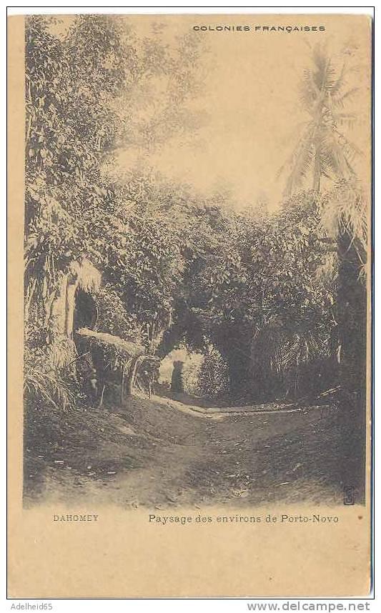 Dahomey Paysage Des Environs De Porto-Novo Ca 1900 - Dahomey