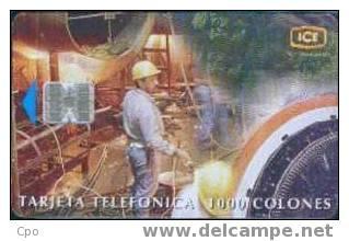 # COSTA_RICA 2 Technologia Y Desarollo No3 Al Servicio Del Cliente 1000 Sc7 03.99  Tres Bon Etat - Costa Rica