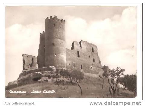 21574)cartolina Illustratoria  Mazzarino - Antico Castello - Lecco