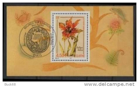 FRANCE Issu Du Bloc 31 Le 3335 Seul Avec Cachet FDC Premier Jour : La Tulipe Tulipa - Mint/Hinged