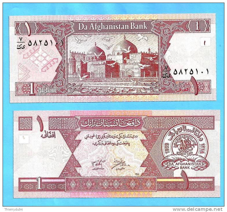 Afghanistan 1 Afghani 2002 Neuf UNC Non Circulé Afghanis Oiseau Bird - Afghanistan