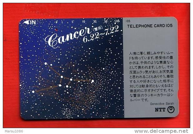Japan Japon  Telefonkarte Télécarte Phonecard Telefoonkaart  -   One Punch Sternzeichen  Zodiac Horoskop  Horoscope - Zodiaco