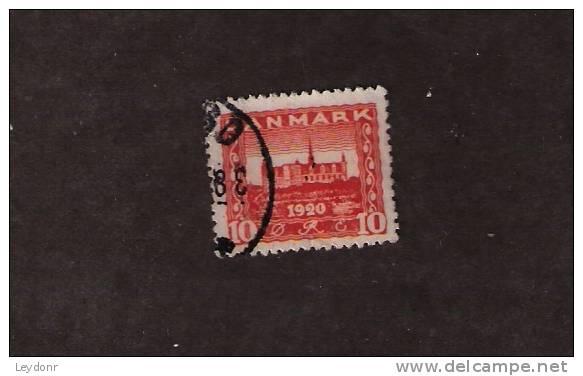 Denmark - Danmark - Kronborg Castle - Scott #  156 - Used Stamps