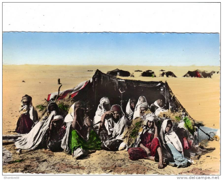 "Algerie- ""Scènes Et Types"": Campement De Nomades Au Désert.                       .....[V1092] - Scene & Tipi"