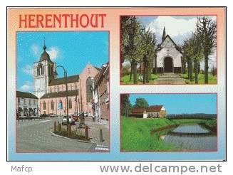HERENTHOUT - Kerk St Pieter En Pauwel - Kapel Uilenberg - ´t Schipke - Herenthout