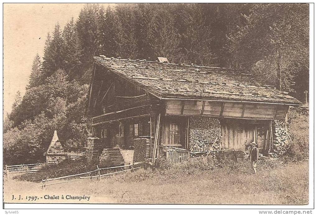 Chalet à CHAMPERY - VS Valais