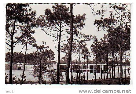 Dép 85 - RF3088 - Saint Hilaire De Riez - Colonie De Vacances De La Ville De Nanterre - Semi Moderne Petit Format - état - Saint Hilaire De Riez