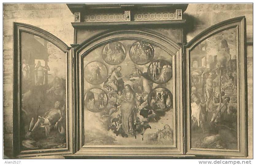 ZOUT-LEEUW - LEAU - Drieluik In Sint-Erasmuskoer - Triptyque De La Chapelle Saint-Erasme - Zoutleeuw