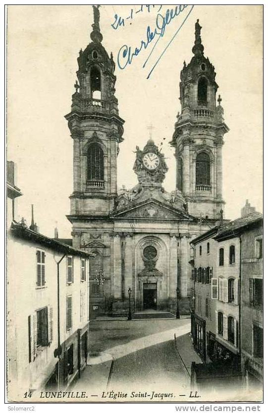 Luneville 54    L´Eglise St Jacques - Luneville