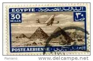 PIA - EGITTO - 1933-38 : Piramidi Di Cheope, Chefren E Micerinos  - (Yv P.A. 16) - Posta Aerea