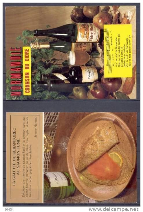 LOT De 20 CPSM    Theme   RECETTES   Ecrites Et Non Ecrites   ANNEES  1970 A 1980 - Cartoline