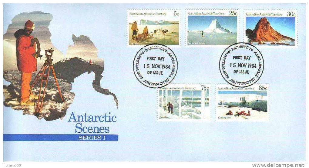 Australian Antarctic Territory, Mawson, FDC (2783) - Territoire Antarctique Australien (AAT)
