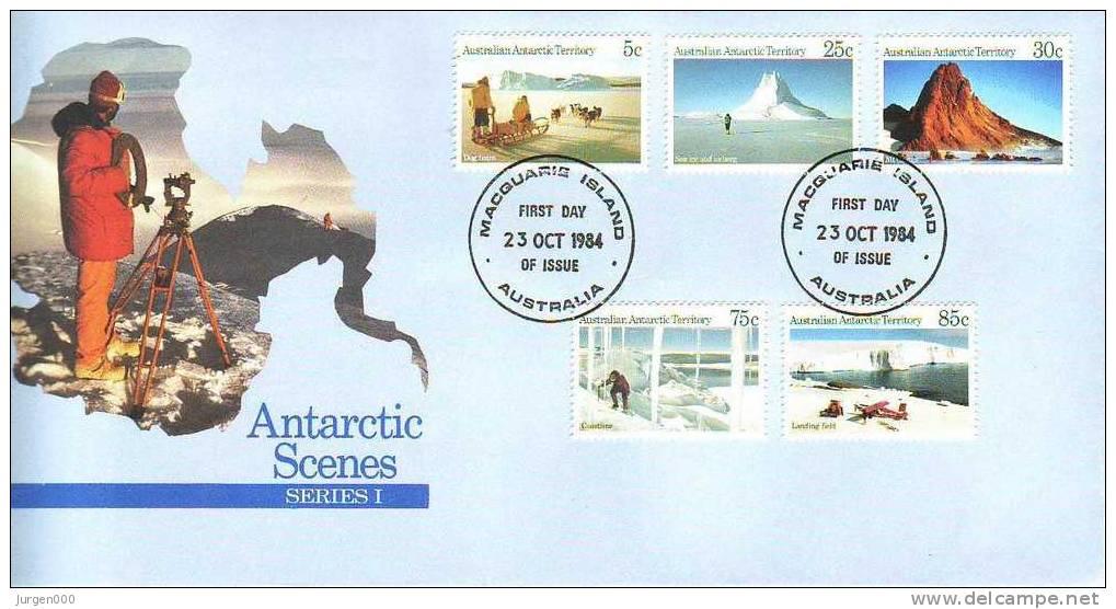 Australian Antarctic Territory, Macquarie, FDC (2784) - Non Classés