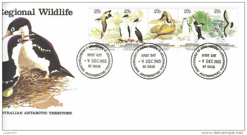 Australian Antarctic Territory, Mawson, FDC (2794) - Non Classés