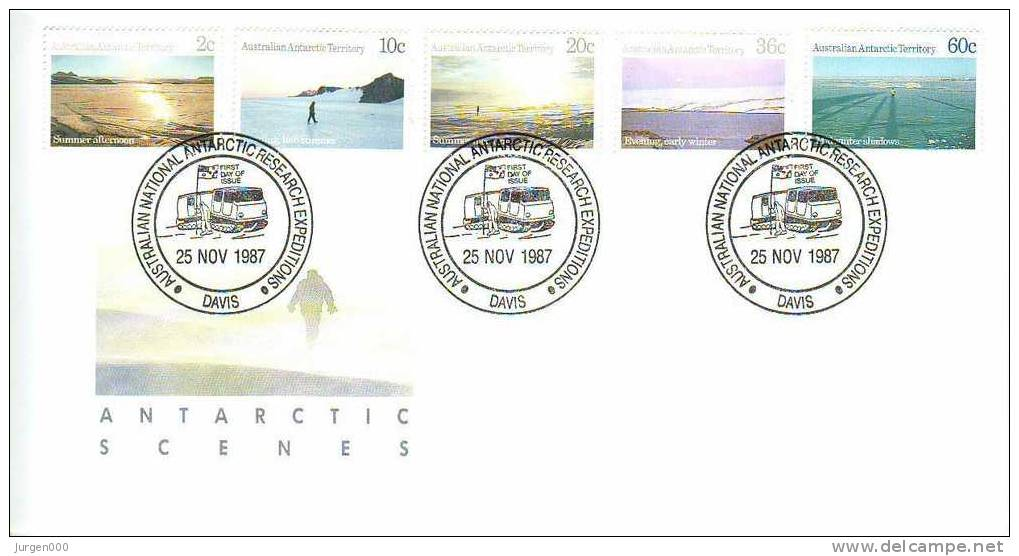 Australian Antarctic Territory, Davis, FDC (2801) - Non Classés