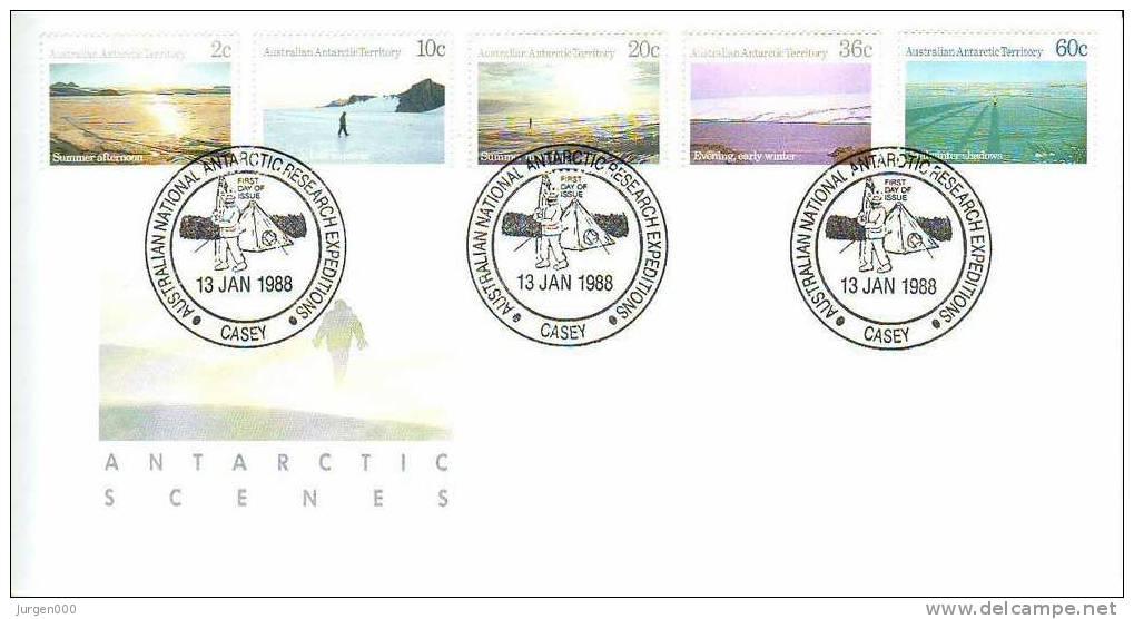 Australian Antarctic Territory, Casey, FDC (2802) - Non Classés