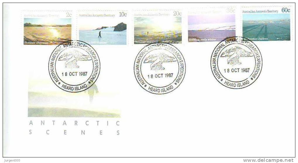 Australian Antarctic Territory, Heard Island, FDC (2809) - Non Classés