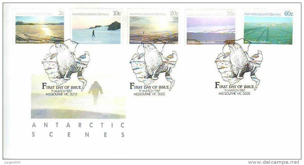 Australian Antarctic Territory, FDC (2814) - Non Classés