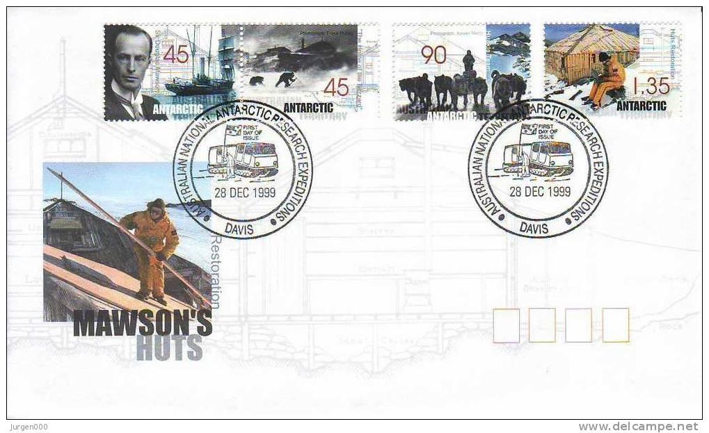 Australian Antarctic Territory, Davis, FDC (2847) - Territoire Antarctique Australien (AAT)