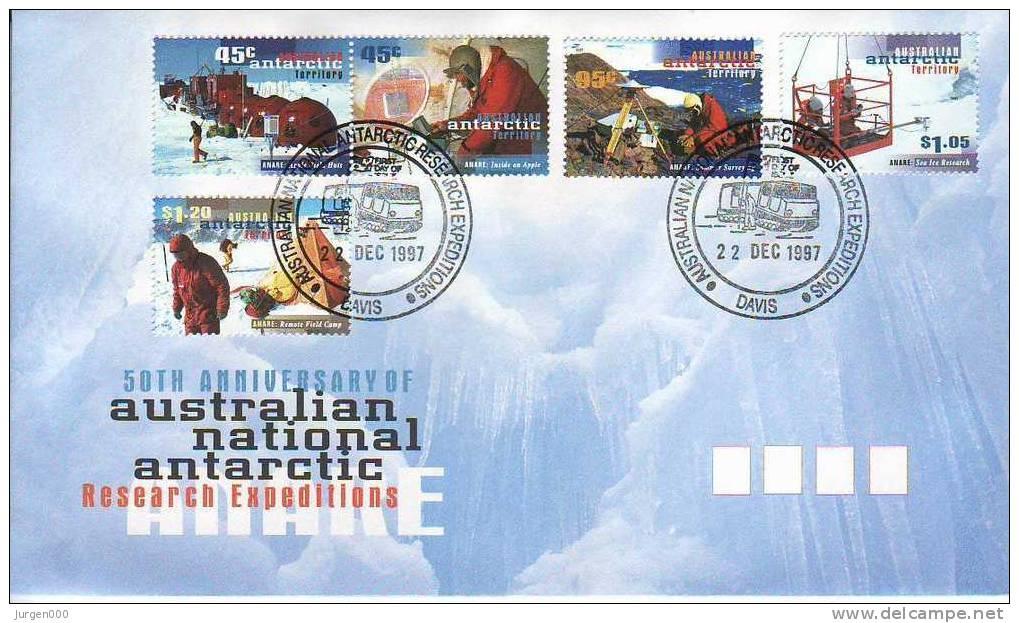 Australian Antarctic Territory, Davis, FDC (2855) - Territoire Antarctique Australien (AAT)