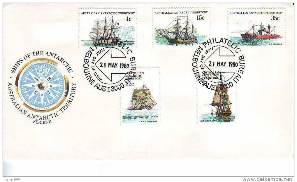 Australian Antarctic Territory, FDC (2860) - Territoire Antarctique Australien (AAT)