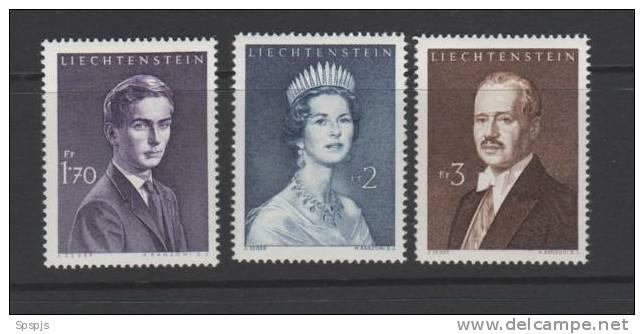 LIECHTENSTEIN...1960 MNH...SCOTT #356-8 - Liechtenstein