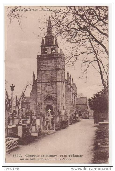 22 - Chapelle De Minihy, Prés De Tréguier Ou Se Fait Le Pardon De St Yves (cimetiere) - France