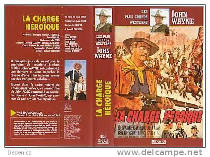 John WAYNE :  LA CHARGE HEROÏQUE - Western/ Cowboy