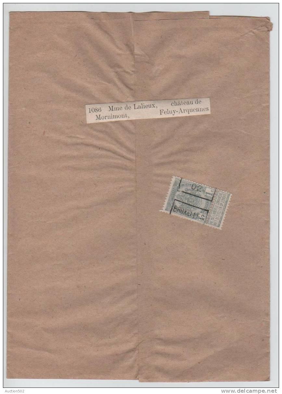 TP 53 S/Manchon  Roulette Bruxelles 1902 V.Feluy 2670 - Precancels