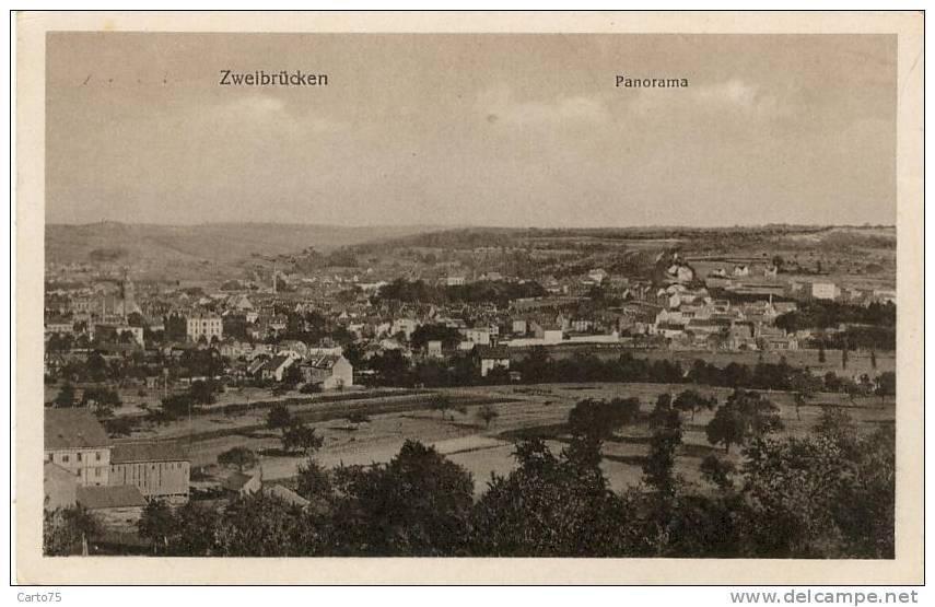 Allemagne - Zweibrücken - Panorama - Zweibruecken