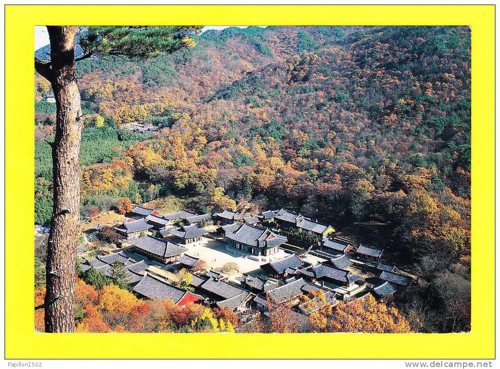 E-Corée-01P Vue Sur Le Temple De SONGKWANGSA, BE - Corée Du Sud