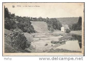 CHINY - Le Vieux Moulin Et Le Barrage - Watermolens