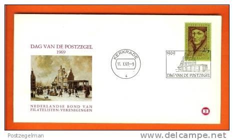 NEDERLAND 1969 Enveloppe Dag Van De Postzegel 927 Mint - Covers & Documents