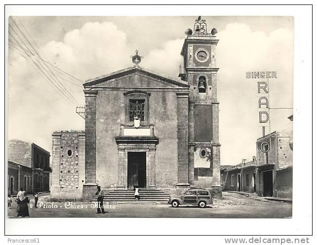 Sicilia PRIOLO Siracusa 1961 Singer Radio Auto Viaggiata - Altre Città