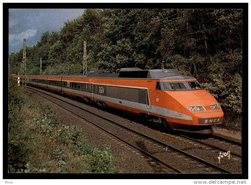 Train Tgv RH061625 - Masque De Fer, Le