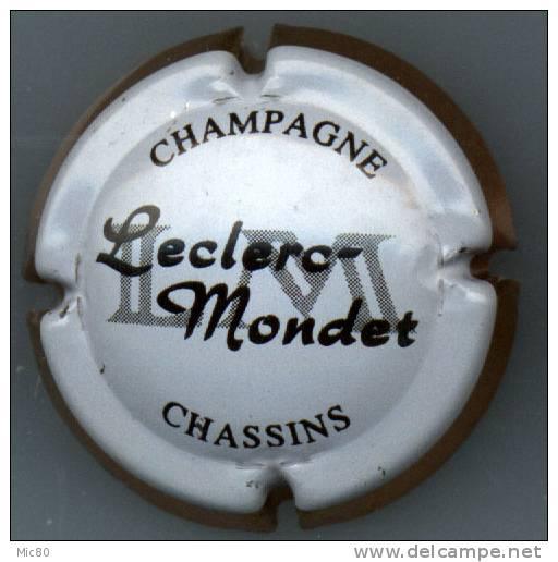 Capsule Champagne Leclerc Mondet Contour Mince Saumon - Champagne