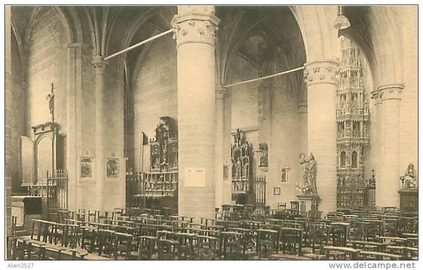 ZOUT-LEEUW - LEAU - De Noorderkant Der Kerk - Le Côté Nord De L'Eglise - Zoutleeuw