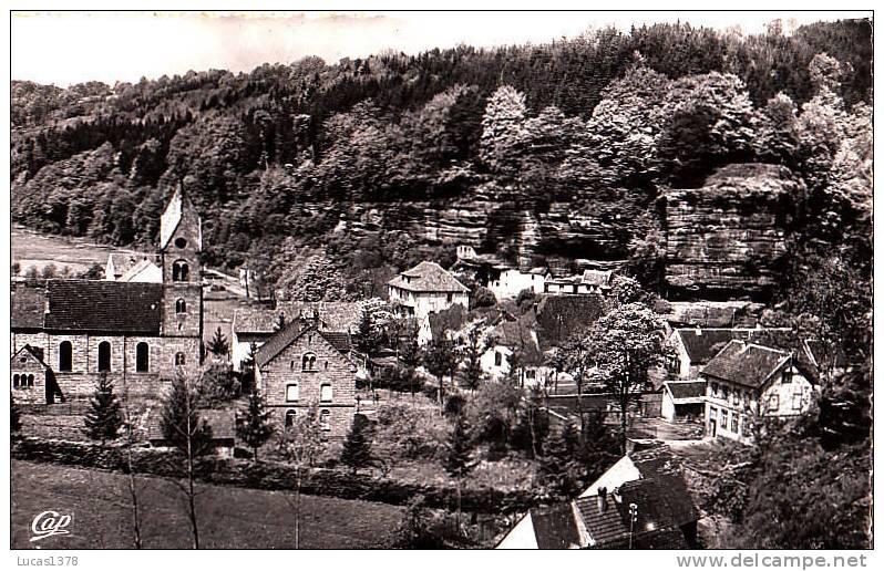 67 / GRAUFTHAL / HABITATIONS DE TROGLODYTES / CPSM 1954 - France