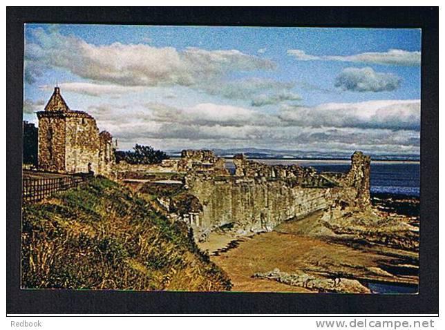 Postcard The Castle St Andrews Fife Scotland -  Ref 360 - Fife